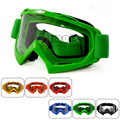 MG-001-GR Green Unisex Motocross Goggles Adult Glasses for Motorcycle Bike Cross Country Flexible Clear Lens Ooculos de grau