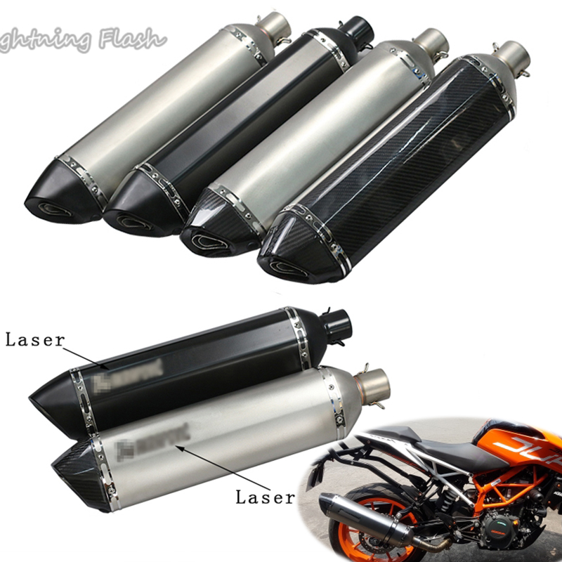 570MM Motorcycle Muffler Exhaust Silencer Taip Pipe Motorbike Modified Pot Escape With DB Killer 51mm Universal Exhaust Pipe570MM Motorcycle Muffler Exhaust Silencer Taip Pipe Motorbike Modified Pot Escape With DB Killer 51mm Universal Exhaust Pipe