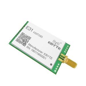 Image 5 - E31 433T30D AX5043 433 МГц 1 Вт дальняя узкая полоса UART антенна SMA IoT uhf беспроводной приемопередатчик приемник модуль