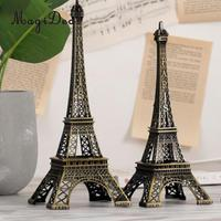 MagiDeal Copper Paris Eiffel Tower Figurine Statue Model Ornament Decoration Craft, French Souvenir Gift Jewelry Stand Holder