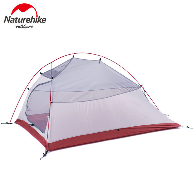 3 Person Outdoor Double Layer Waterproof PU4000 Hiking Tent Aluminum Rod Ultralight Portable Mountain Single Tents With Mat