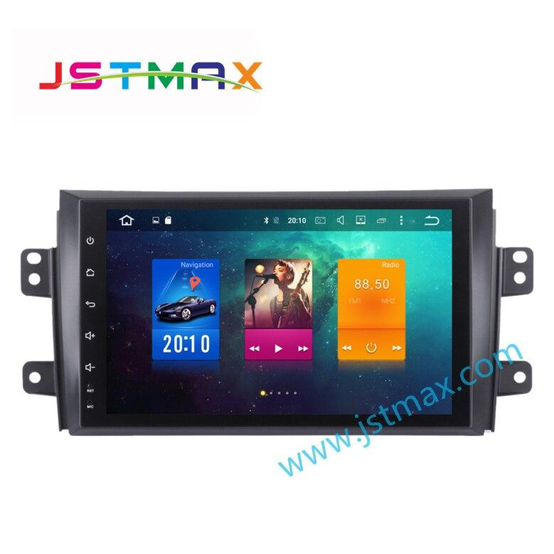 Lecteur multimédia de Radio GPS de voiture Android 8.0 pour Suzuki SX4 2006-2011 4 GB Ram Auto Radio multimédia GPS NAVI sans DVD