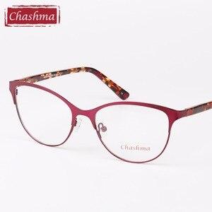 Image 4 - Chashma Cat Eyes Style Glasses Women Top Quality Female Optical Glasses Frames Eyewear Fashion Eyewear