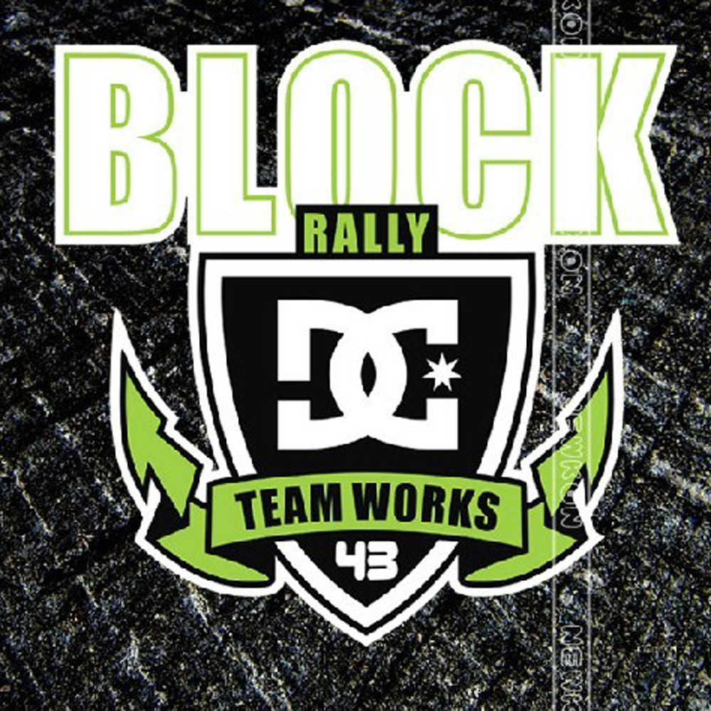 Car design sticker rally - Car Stickers Dc Block 43 Rally Team Works Creative Decals Auto Tuning Styling Waterproof Reflective 14