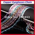 20 шт. DH019 медные цепочки для очков металлические очки очки солнцезащитные очки держатель шнура 6 различных цветов для вариантов