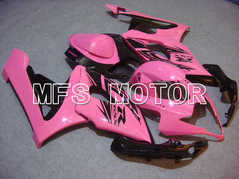 For Suzuki GSXR 1000 K5 2005 2006 Injection ABS Fairing Kits GSXR1000 K5 05 06 - Others - Pink/Black oem injection moulding moto fairing kit for suzuki k5 gsxr 1000 2005 2006 kits 05 06 all glossy black full fairings kits