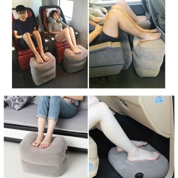 Travel Inflatable Pillow Footstool
