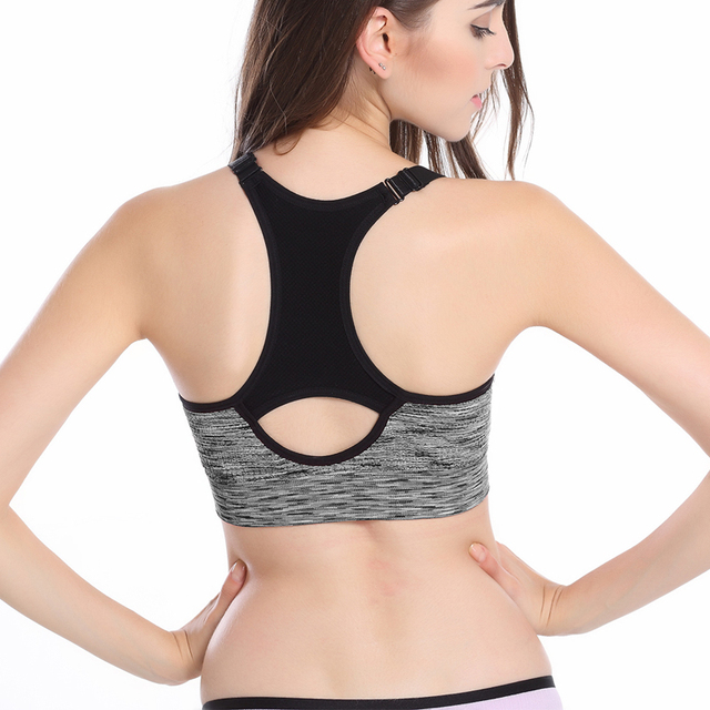 Adjustable Straps Padded Woman's Sport Top