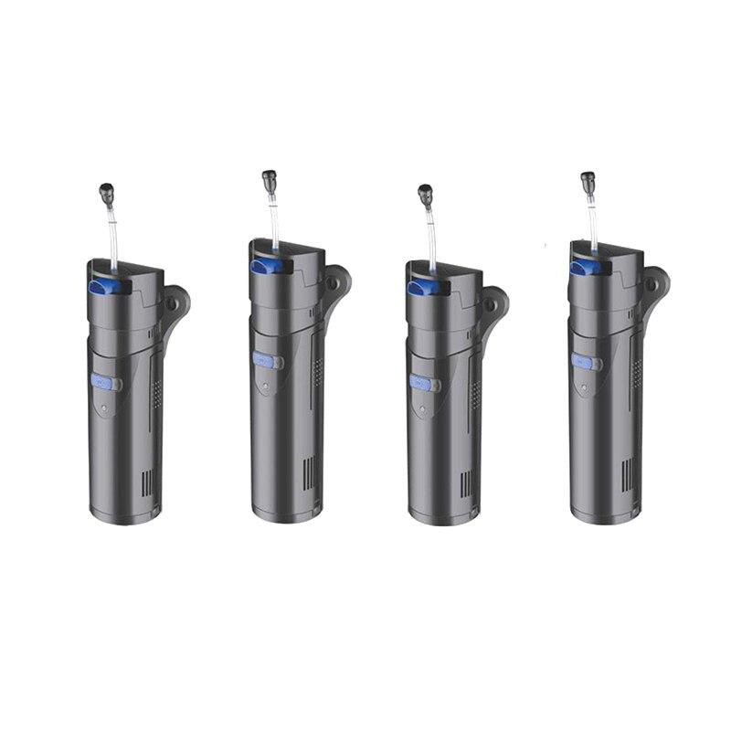 Neue Multifunktionale Aquarium UV Sterilisator = 3/5/7/9W UV Lampe + 10W Pumpe, filter schwämme & filter material bakterien bälle sind-in Filter & Zubehör aus Heim und Garten bei  Gruppe 1