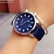 Estilo clásico 2017 Nueva Moda Simple Top Famosa marca De Lujo reloj de cuarzo Mujeres casual relojes de Cuero Reloj reloj mujeres