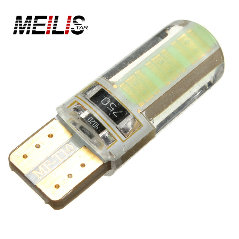 1Pcs Car led T10 LED 194 168 W5W COB Interior Bulb Light Parking Backup Brake Lamps Canbus No Error Cars xenon Auto Led Car 2pcs lot bright double no error t10 led 194 168 w5w canbus 6 smd 5050 led car interior bulbs light parking width lamps