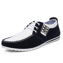 New Nice Spring Autumn Men Shoes Casual Male Footwear For Men Fashion Leather Flat Men Fashion Zapatos Hombre P58