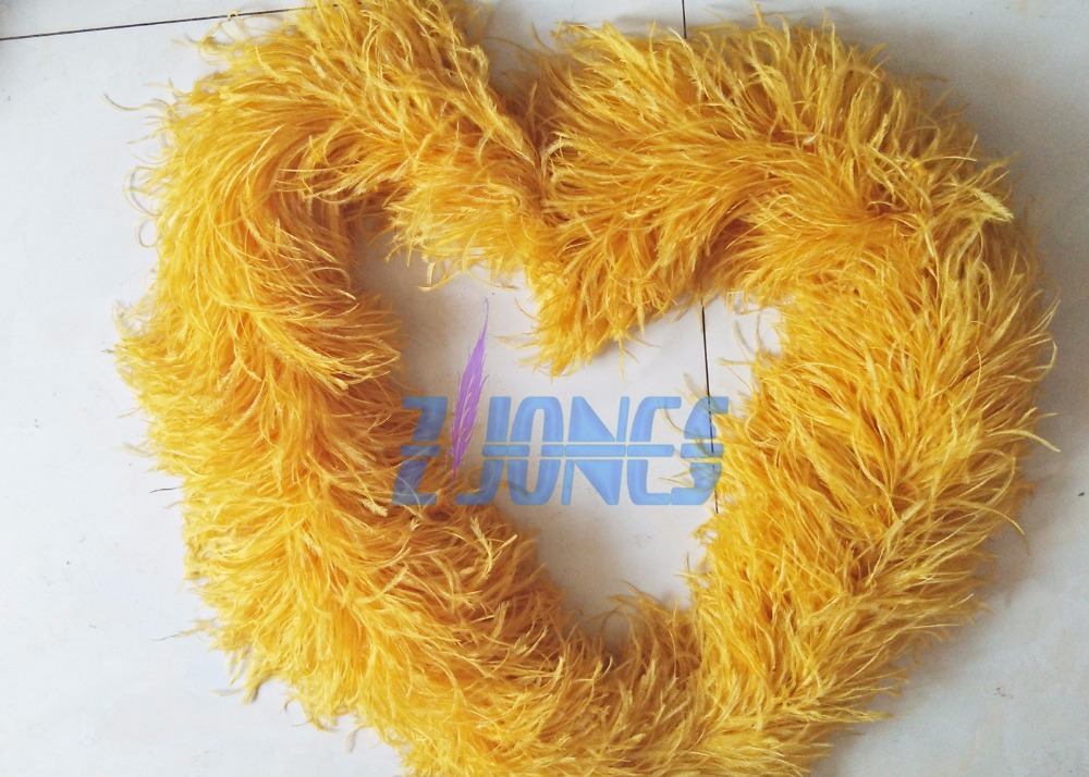 Buy super thick feather boa 1pcs 12ply for Where can i buy peacock feathers craft store