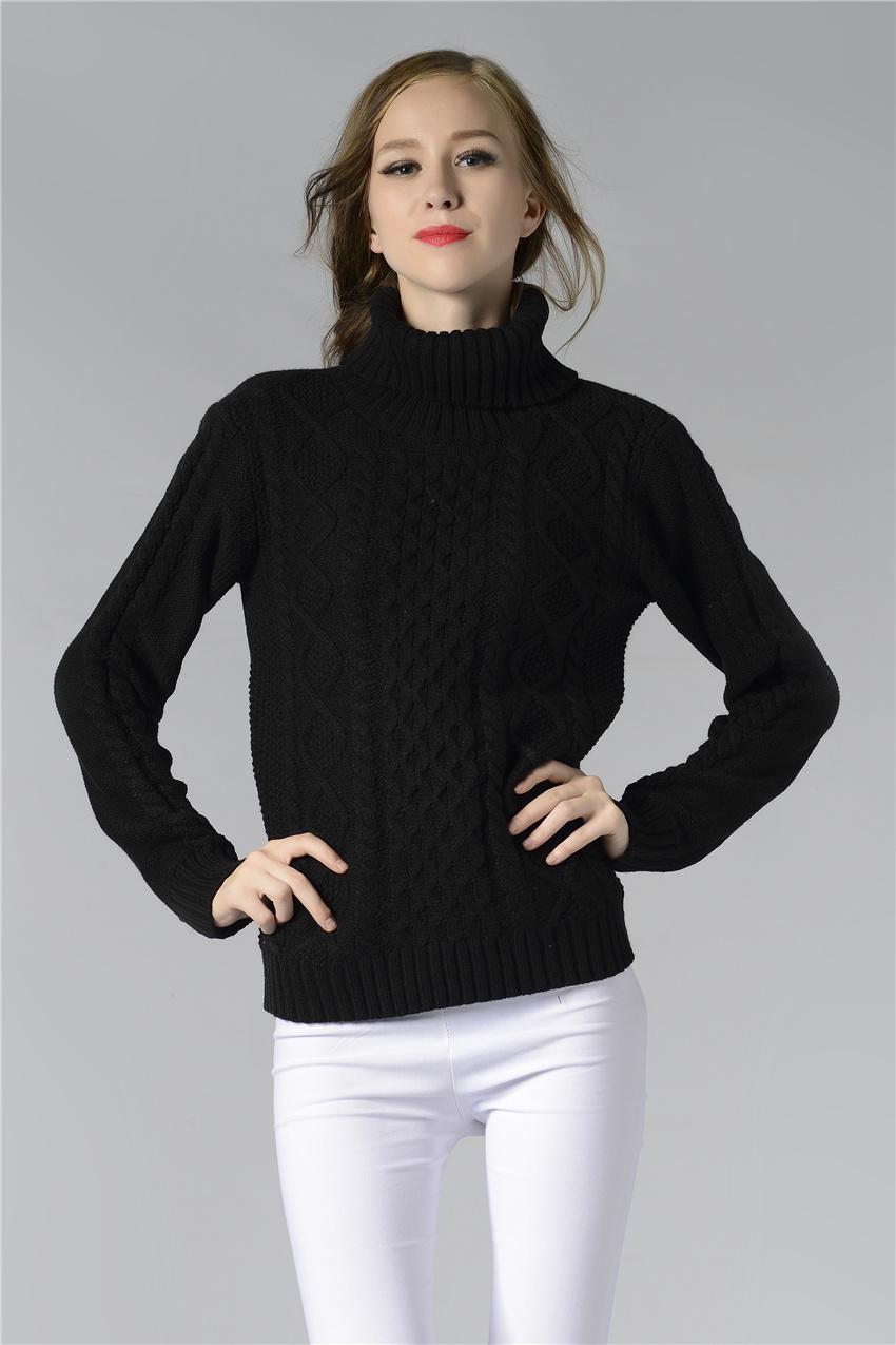 HTB1wLEuSpXXXXbkXpXXq6xXFXXXU - FREE SHIPPING ! Sweater Long Sleeve Turtleneck JKP196
