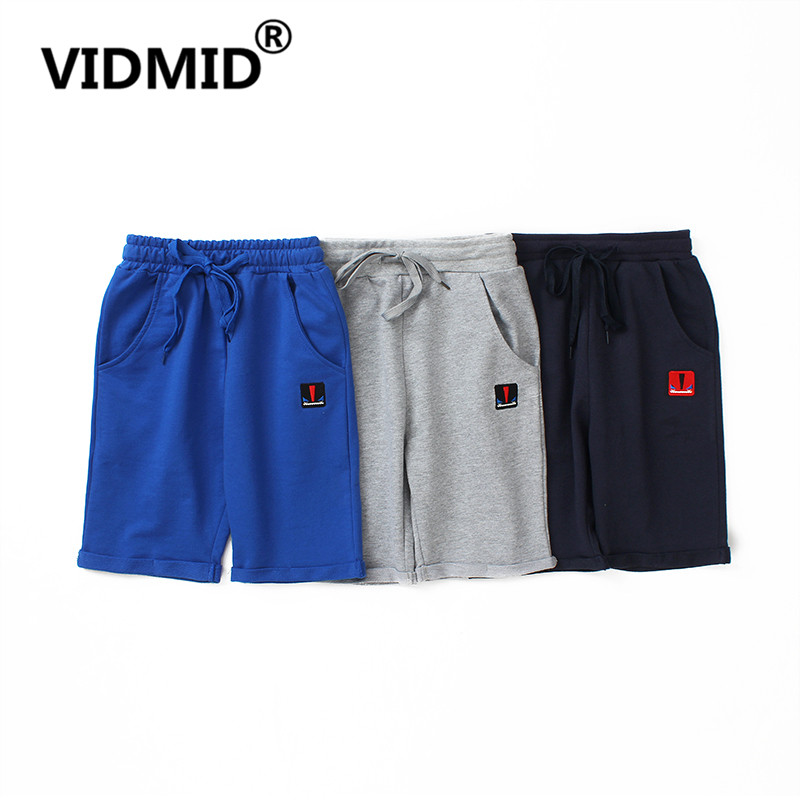 VIDMID Kids cotton   Shorts   Boys Beach   Shorts   trousers Elastic Waist Big Boys trousers Casual Teenage Boys Clothing 4102 06