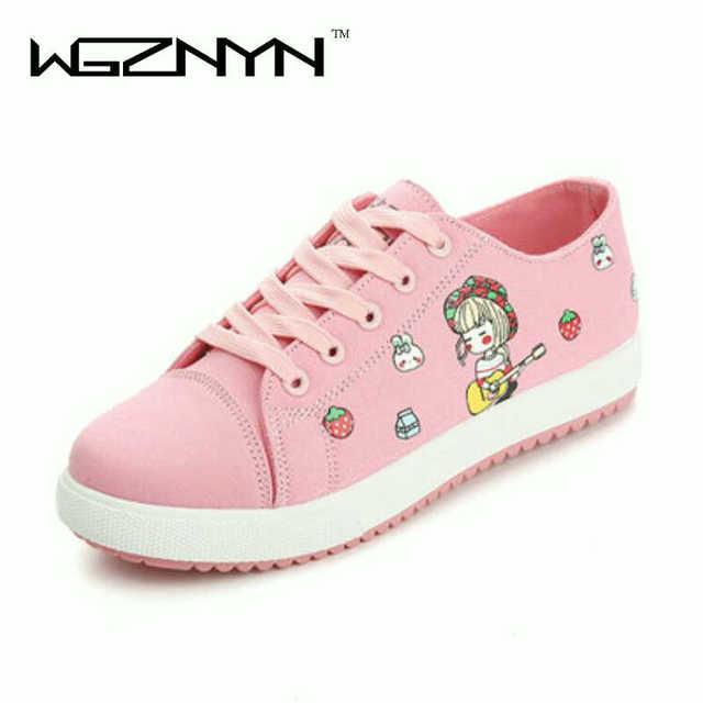 ceb1877b4c3b WGZNYN женская обувь кроссовки Текстильная обувь на платформе повседневные  туфли в ...