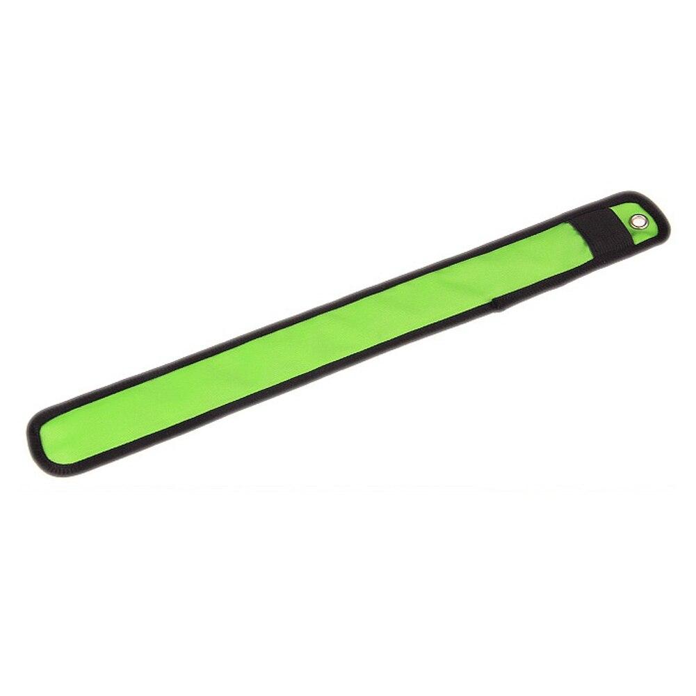 Новинка СВЕТОДИОД Мигает Нейлон запястье повязка лента для безопасности Спорт (зеленый)