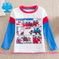 flags brand 2016 new baby boy clothes kid roupa infantil T-shirts cartoon long sleeve T shirt children clothing wear top T2103#