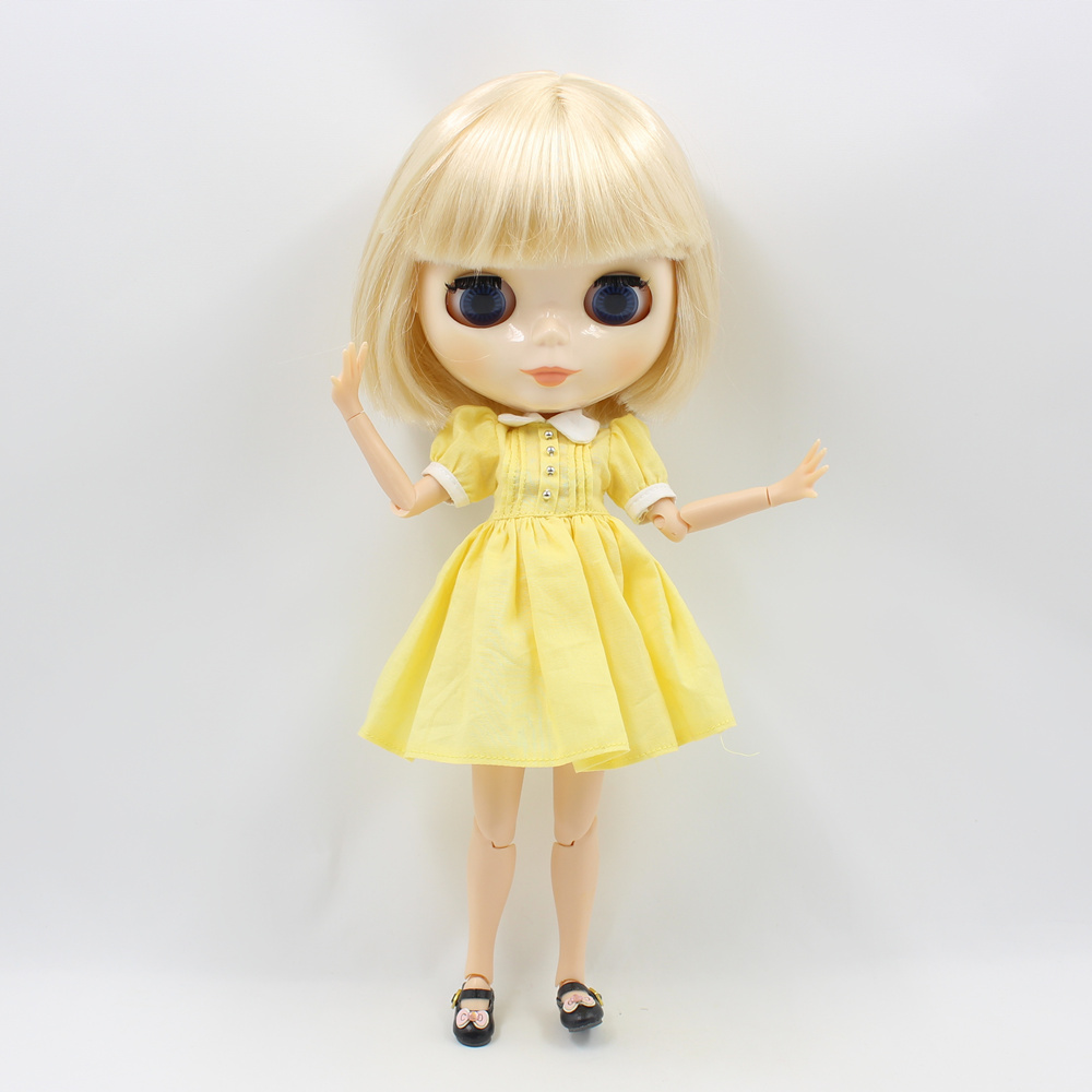 Neo Blythe Doll Simple Skirt Dress