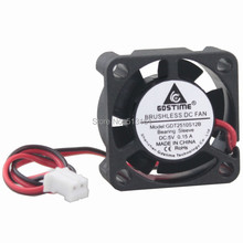 GDT 5v axial dc cooling fan  2pin 2510 25mm 25x25x10