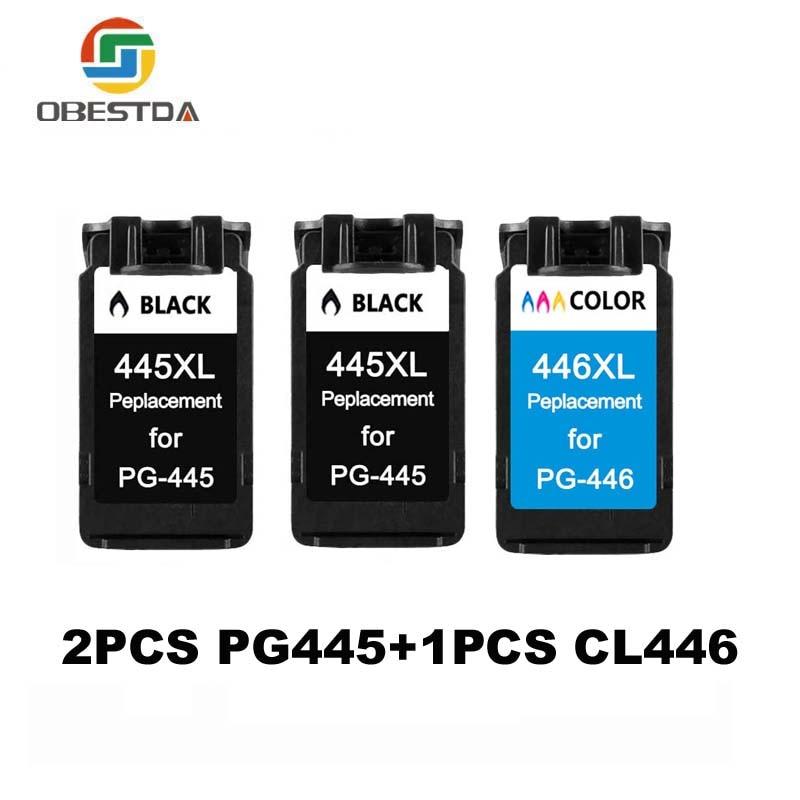 PG445 CL446 Cartouche pour Canon PG 445 CL 446 Cartouche d'encre pour Pixma MG2540 MX494 MG2440 MG2940 MG2942 MG2924 MX492 imprimante