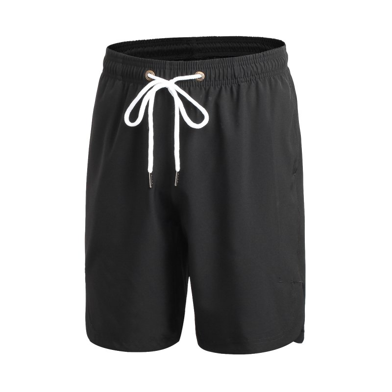 2017 New Loose Drawstring Quick-dry Shorts Men Fitness Mens Workout Casual Shorts S4
