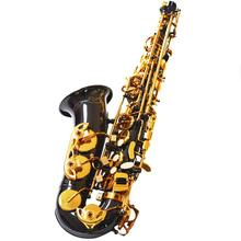 цены Customize New Arrival WOENS Alto Saxophone Black Nickel Gold Brass Wooden Instruments Saxofone E Flat Sax With Case