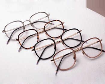 2017 thom Computer Lenses Round Eyeglasses Optical Vintage Spectacle Frames tb906 Retro Prescription Eyewear  Oculos De Grau - DISCOUNT ITEM  0% OFF All Category