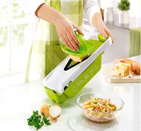 FREE SHIPPING!!! New V Slicer Vegetable Fruit Slicer Dicer Food Cutter with Container