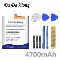 Da Da Xiong 4700mAh HB386483ECW + Batteria per Huawei honor 6X Maimang 5 G9 Più MLA-AL00 MLA-AL10 G9Plus Del Telefono batteria