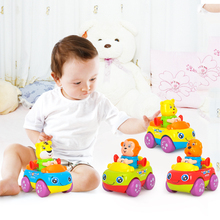 4pcs/Lot Children Pull Back Cars Dog Monkey Tiger Animal Cartoon Cars Friction Car Kids Beach Model Toys 2018 children gifts 8pcs lot pull back car toys children racing car baby mini cars cartoon pull back truck kids toys