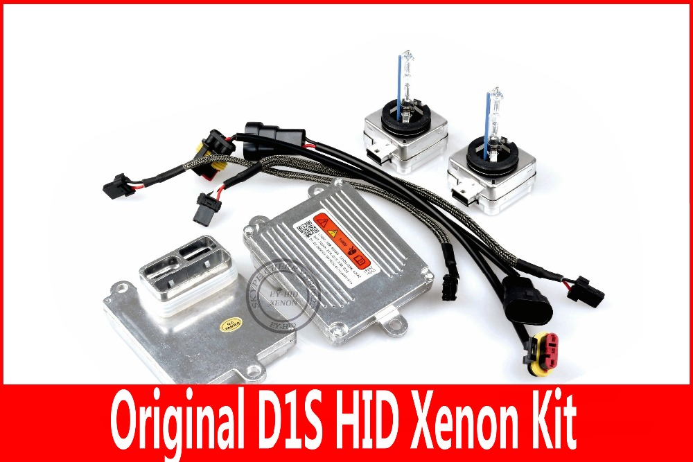 High quality Free shipping D1S/D1C HID Xenon kit,with 100% origina D1S bulb Warm White ,Cold White,White ,D1S KIT with original box 1pcs d2r oem original hid d2r xenon bulb for cars 4300k 5500k warm white cold white