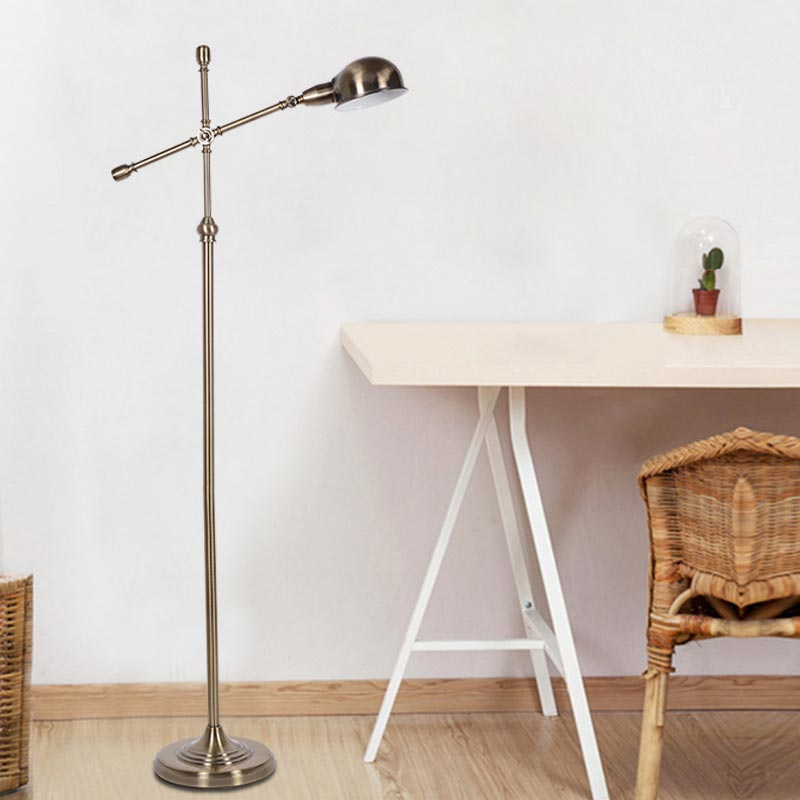 Modern Floor Light Classic Living Room Bedroom Adjustable Direction Standing Lamp Copper Color Lamp Stand Home Lighting BLF512 modern 9w 12w 15w led floor lamp remote dimmable stand lights living room piano reading standing lighting led floor lighting
