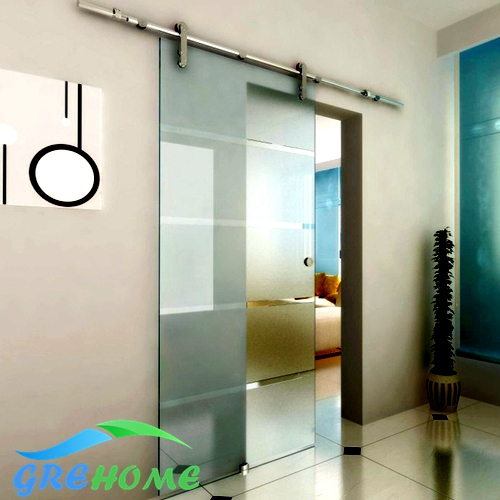 6 6ft barn glass sliding doors hardware in doors from home for Six foot sliding glass door