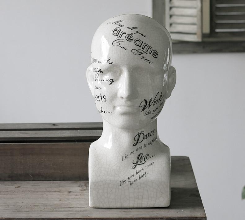 keramika Halfling Avatar ukras za dom obrt ukras za sobu keramike - Kućni dekor - Foto 2