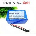 24V аккумулятор 25 2 V 6Ah 18650 Аккумулятор 6000mAh аккумуляторная батарея для gps-навигатора/камеры/автомобиля гольфа/электрического велосипеда/свет...