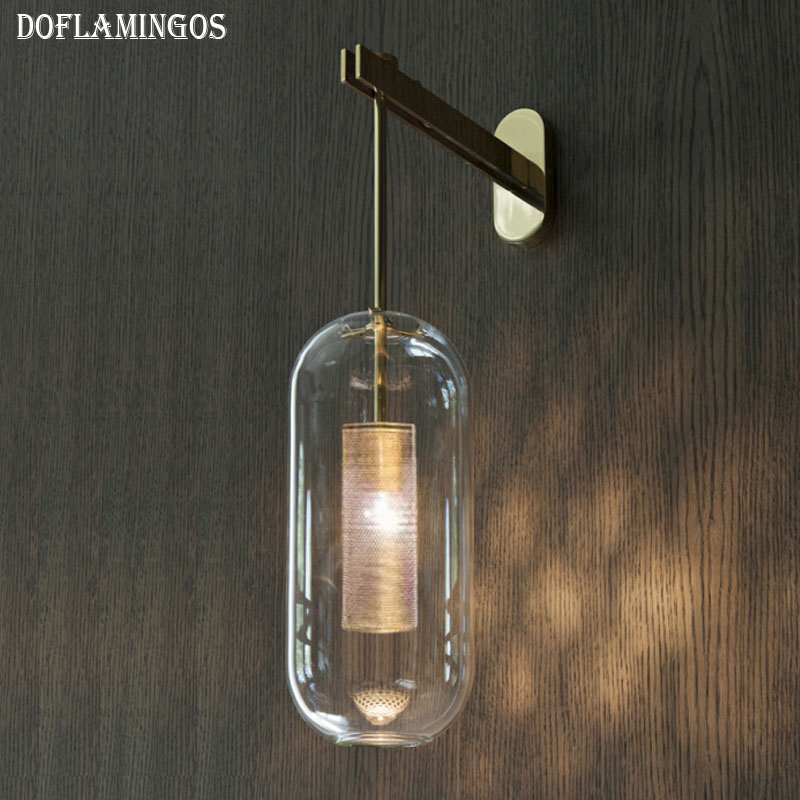 NEW Modern Vintage Loft Adjustable Industrial Metal Wall Light retro stainless steel wall lamp Sconce Lamp Fixtures