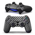 Hot Black Carbon Fiber Sticker Decal Skin Case Cover Protector For Sony for PS4 Playstation 4 Dualshock Controller PVC