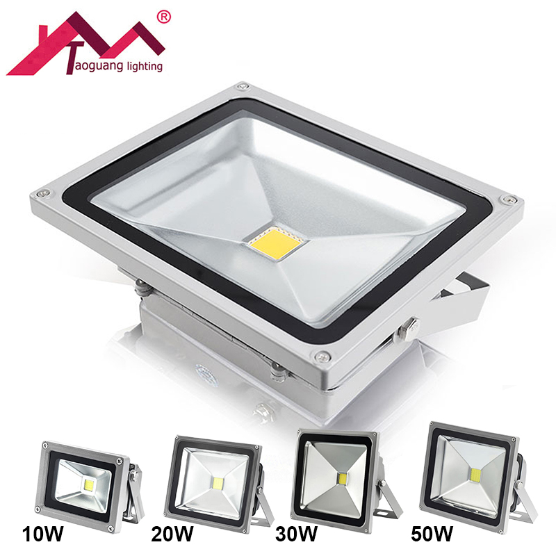 Outdoor Waterproof IP65 LED Flood Light Wall Washer Lamp Reflector Led 10W 20W 30W 50W COB Chip Spotlight Floodlight Garden Lamp led flood light waterproof ip65 200w 90 240v led floodlight spotlight fit for outdoor wall lamp garden projectors