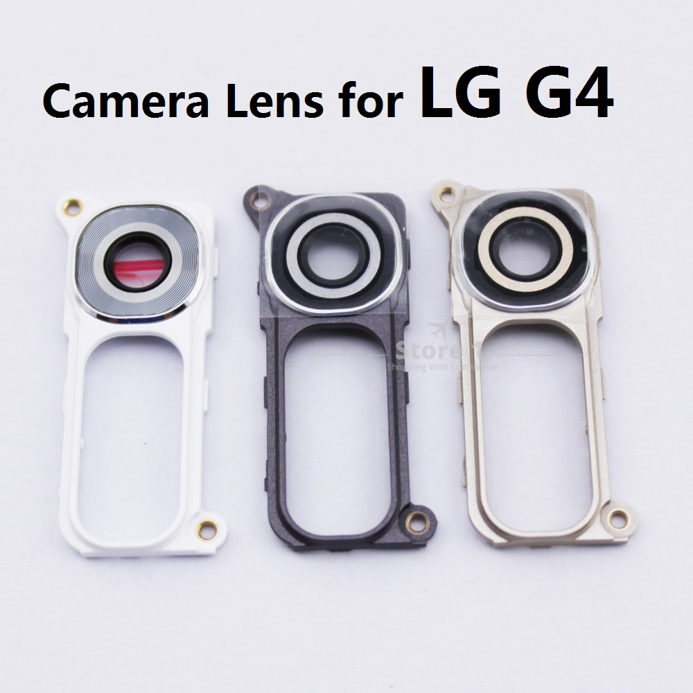 for LG G4 Back Rear Supper Custom Camera Lens Cover With Original Frame High Quality Replacement Part image