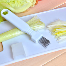 Vegetable Cut Silk Knife Onion & Onion Slicer Kitchen Gadgets Cut Onion Knife Cut Silk Knife Multi-purpose Vegetable Chopper 5Z(China)