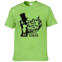 2018 т рубашка для Для мужчин Лето 2017 г. Новая мода футболка с короткими руками топ с надписью Европейский BLYF