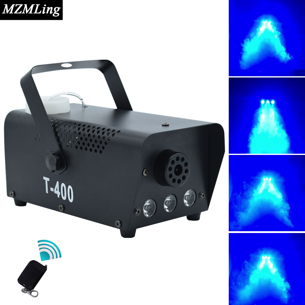 400w 0.5L Led Fog Machine With 3x3w Smoke Machine Wire/Remote Control Professional DJ /Bar /Party /Show /Stage Machine Fogger kupo df50