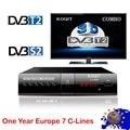 DVB T2 S2 комбо cline для 1 года Европейский спутниковый ресивер цифровой ТВ-приставка Youtube тюнер DVB T2 тюнер телеприставка Wifi finder m3u