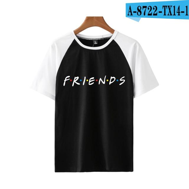 Friends Tv TShirt Kawaii T...
