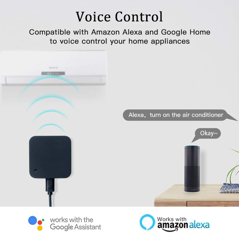 Image 5 - AVATTO S06 Mini Smart Home Automation 2.4GHz WIFI IR Remote with Alexa,Google home Voice Intelligent Universal Remote Controller-in Home Automation Modules from Consumer Electronics