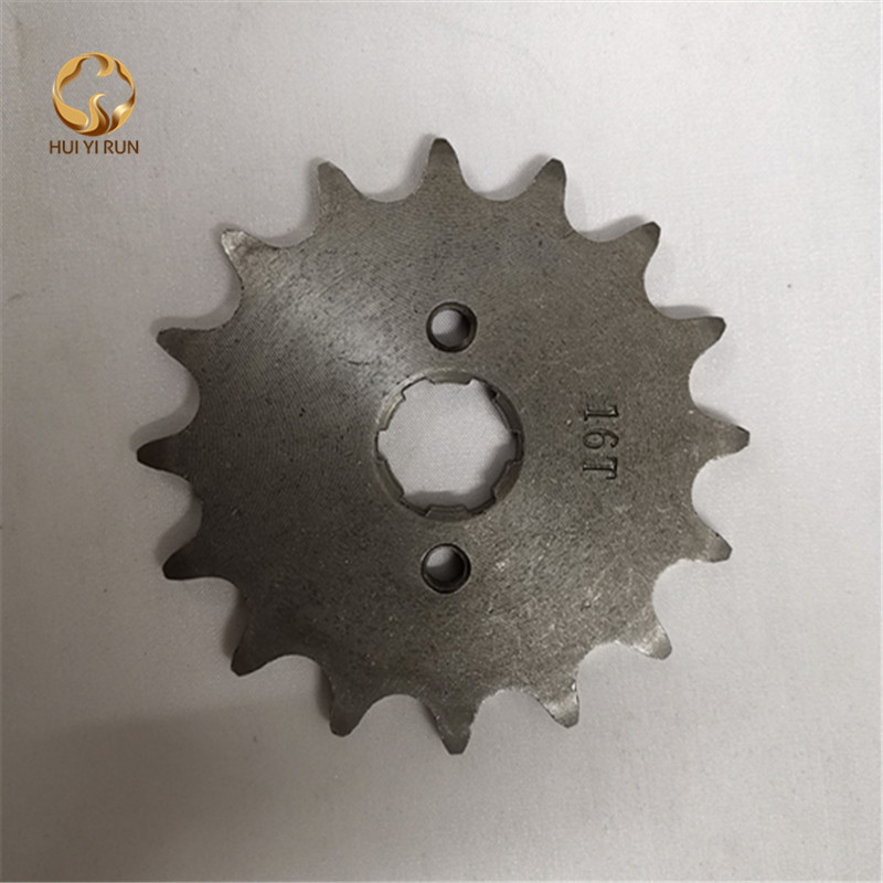 Front Engine Sprocket 520# 16 Teeth 20mm For 520 Chain With Plate Locker Motorcycle Dirt Bike PitBike ATV Quad Parts image