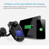 NEW Handsfree Wireless Bluetooth FM Transmitter LCD MP3 Player USB Charger Janu 4