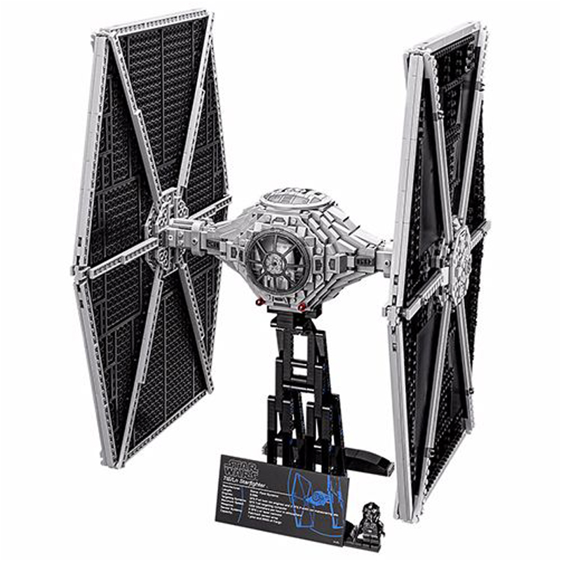 LEPIN 05036 1685pcs Star Series Wars Tie Building Fighter Educational Blocks Bricks Toys Christmas Gifts Compatible 75095 lepin tie fighter 05036 1685pcs star series wars building bricks educational blocks toys for children gift compatible with 75095