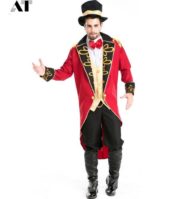 Magician Costume Men Gothic Victorian Dress Halloween Costume For Men Halloween  Costumes